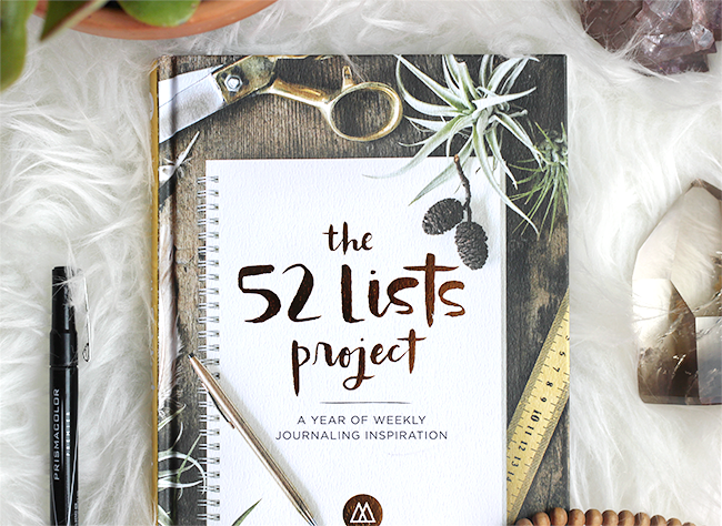 the-52-lists-project
